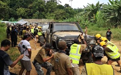 Petron Turbo Diesel Euro 5 Powers 4×4 Rainforest Expedition