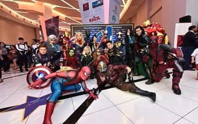 Petron Miles Partners, Customers, Celebrities, Media, Fueled Up for the Epic Movie Marvel Studios' Avengers: Endgame
