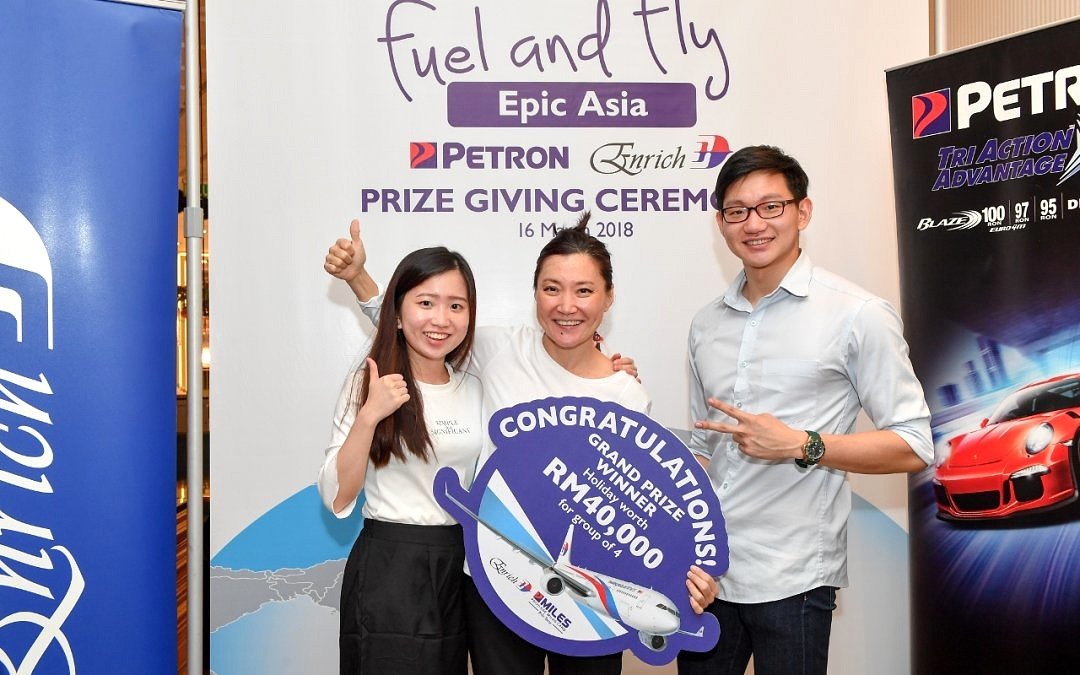 Petron, Malaysia Airlines Send Loyal Customers to Dream Destinations