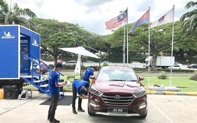 Petron Fuels Safety With More Car Inspections
