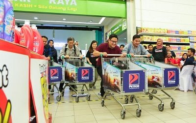 Petron Hypermarket Sweep Returns to Reward Loyal Customers