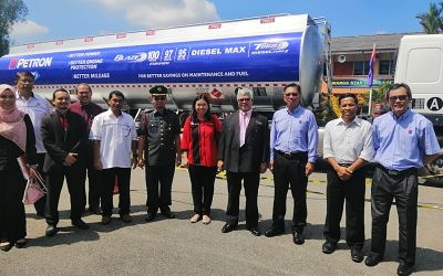 Petron Spreads Road Safety Awareness In Kedah