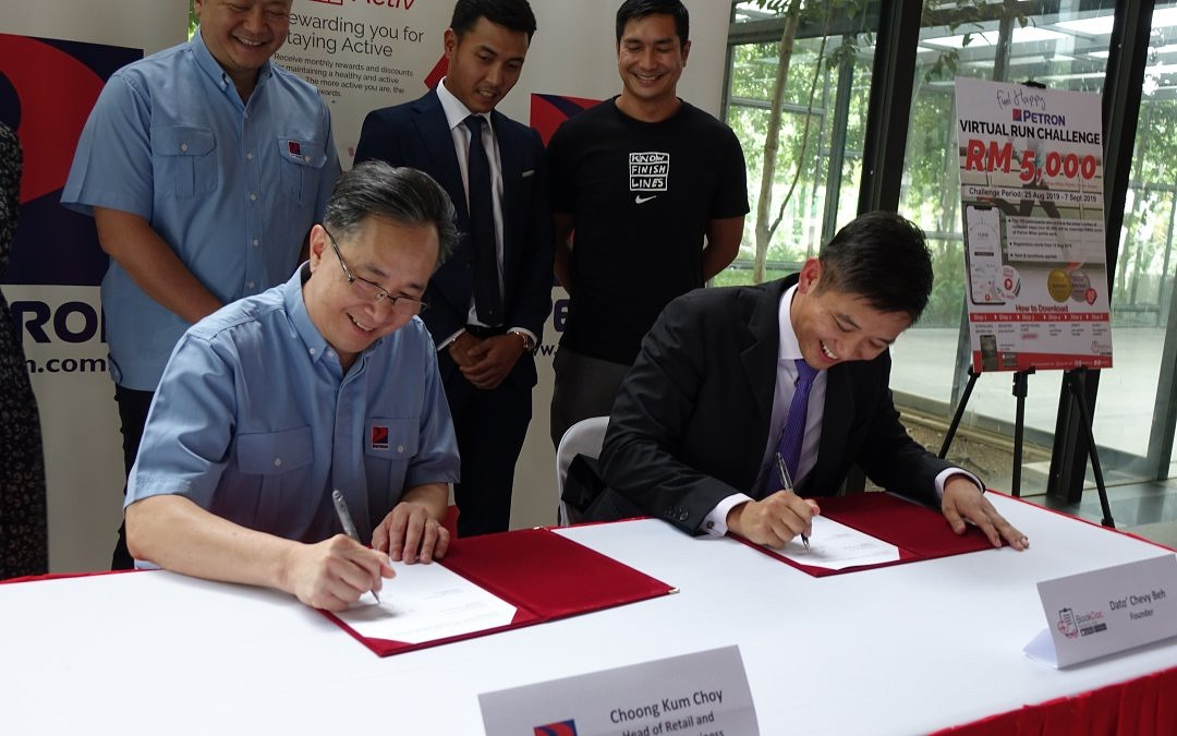 BookDoc Signs Up Petron Malaysia As Activ Reward Partner