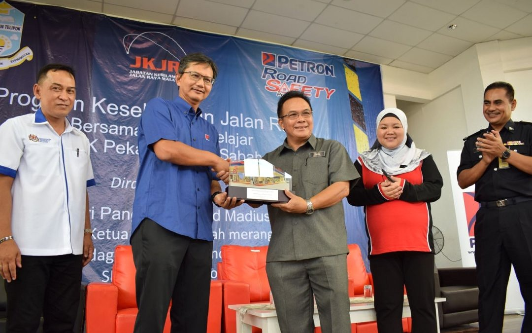 Petron's First And Biggest Road Safety Program In Sabah