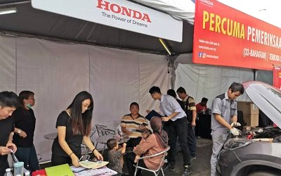 Petron Offers Free Car Inspection With Honda Malaysia