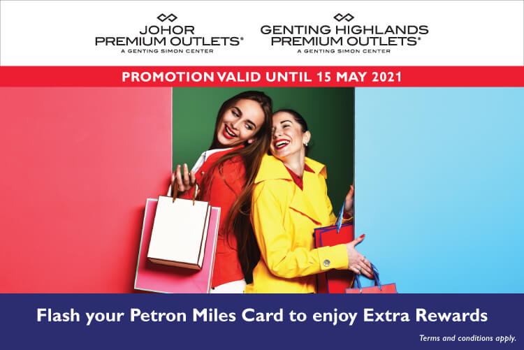 Extra Rewards for Petron Miles Customers