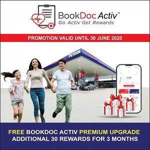 BookDoc Activ Premium Upgrade for Petron Miles