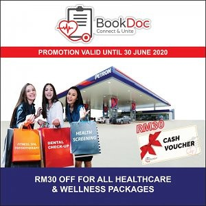 Instant RM30 Off on BookDoc Marketplace