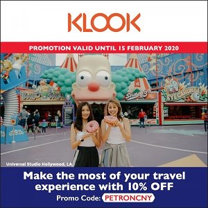 Instant 10% Off on Klook