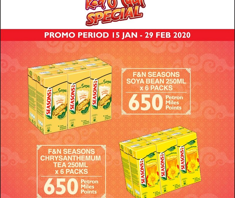 Redeem RHS items with Petron Miles points