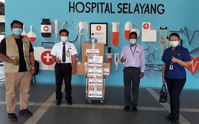 Petron Donates PPEs to Hospitals In Seven States