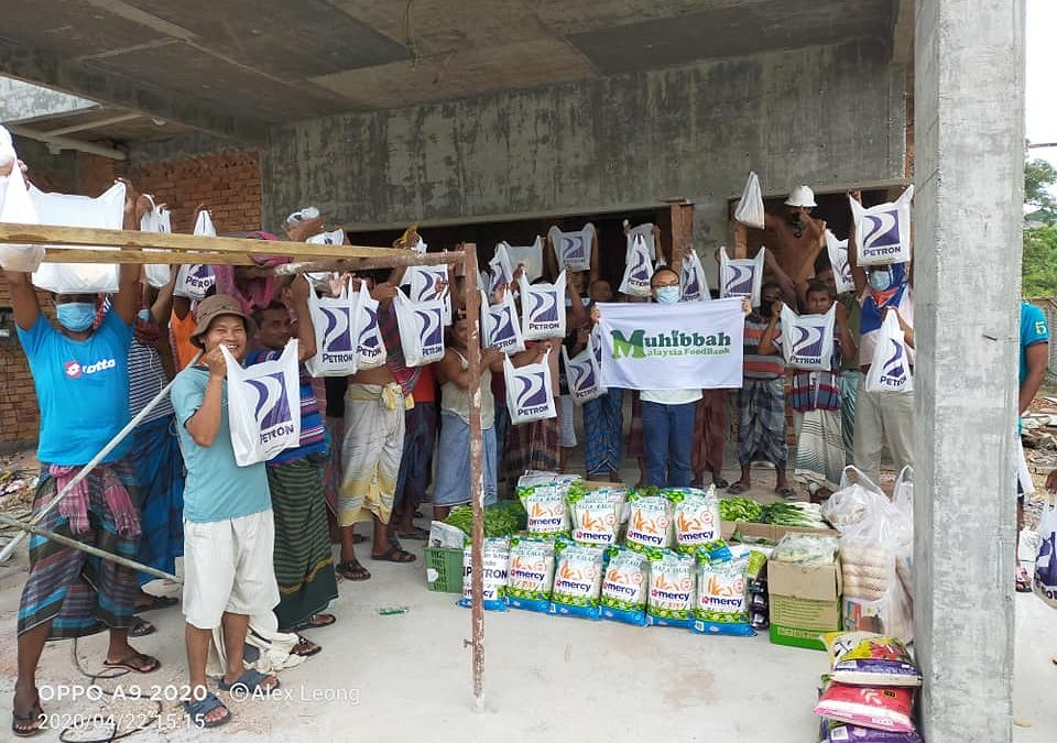 23 Apr: Relief Operations to Local and Foreign Workers