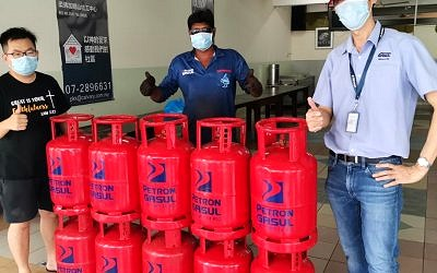 Contribution Of LPG Gasul To Charity Homes