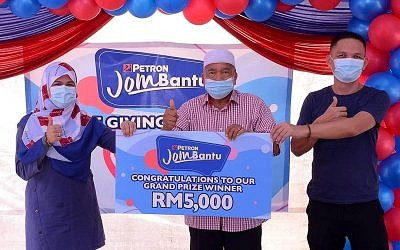 Over 300 Customers Win RM240,000 Worth Of Prizes In Petron Jom Bantu Contest