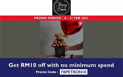 ENJOY RM10 OFF WITH NO MINIMUM SPEND WITH FBPETRON10