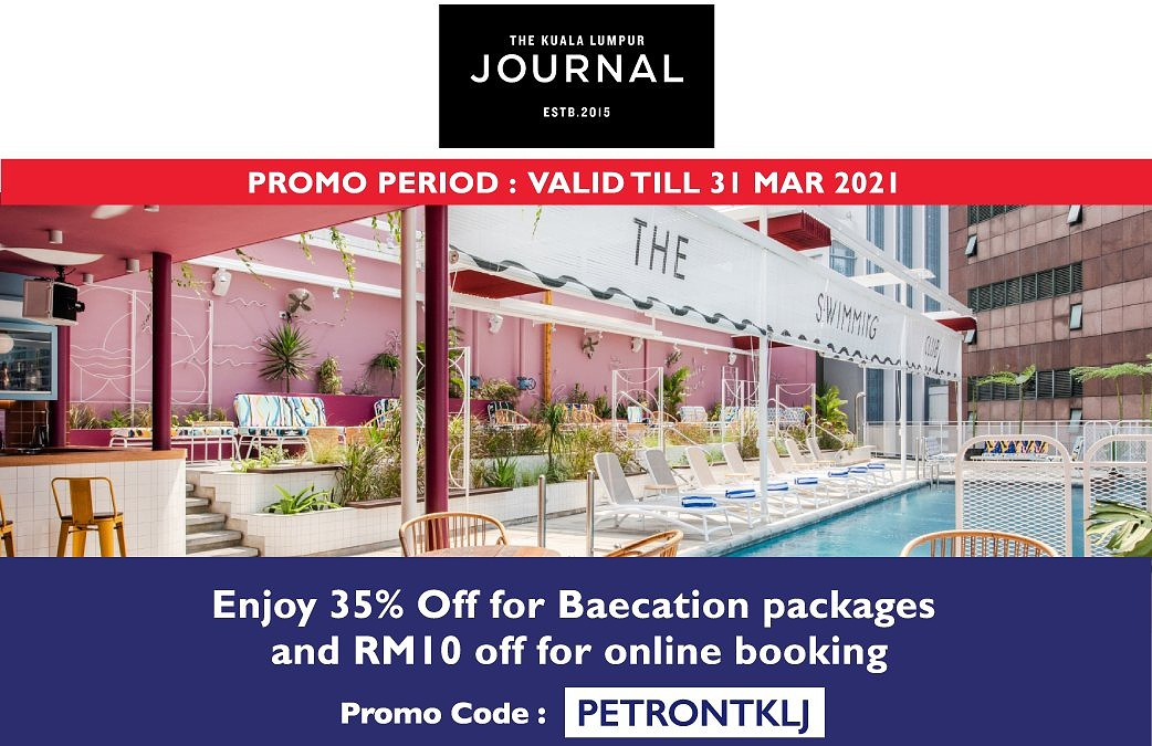 ENJOY 35% OFF FOR BAECATION PACKAGES & RM10 FOR ONLINE BOOKING