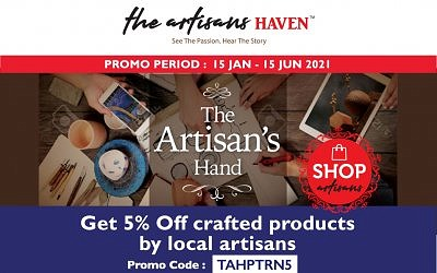 5% OFF TO SUPPORT LOCAL ARTISANS PRODUCTS