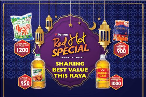 Sharing Better Value This Raya!