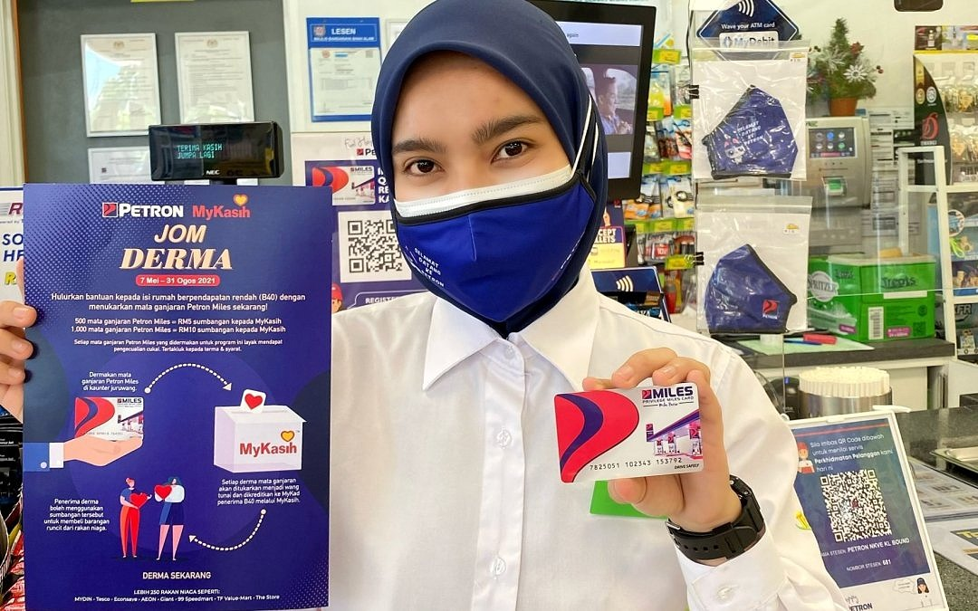 Petron Miles Members Can Share Points To Help Families In Need